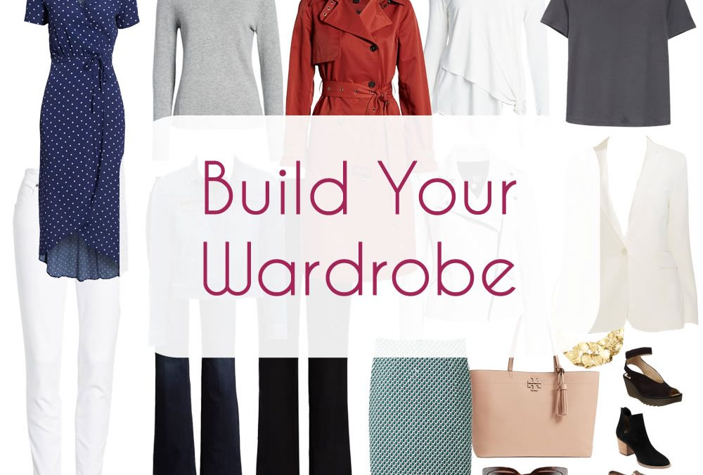 Build your Wardrobe and determine your Wardrobe Essentials
